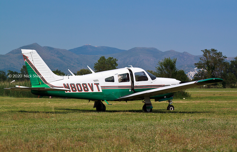 Light Aircraft in the Pyrenees