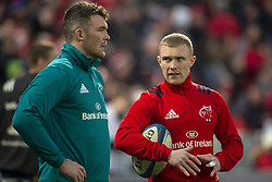 January 19, 2019 - Limerick, Ireland - Peter O'Mahony and Keith Earls of Munster during the Heineken Champions Cup match between Munster Rugby and Exeter Chiefs at Thomond Park in Limerick, Ireland on January 19, 2019  (Credit Image: © Andrew Surma/NurPhoto via ZUMA Press)