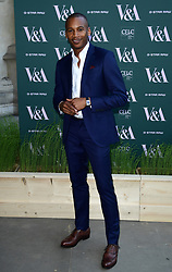 Eric Underwood attending the VIP preview for the V&A Museum's Fashioned From Nature exhibition, in London