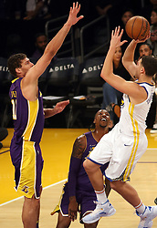 November 29, 2017 - Los Angeles, California, U.S - of the Los Angeles Lakers during their game with the Golden State Warriors on Wednesday November 29, 2017 at the Staples Center in Los Angeles, California. Lakers lose to Warriors, 127-123. (Credit Image: © Prensa Internacional via ZUMA Wire)