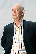 British playwright Sir Alan Ayckbourn, pictured at the Edinburgh International Book Festival where he talked about his life and work as a writer and theatre director. The Book Festival is the world's biggest literary festival with appearances by over 500 authors from across the world. It is expected to draw record attendances this year.
