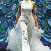 NLD/Amsterdam/20151211 - Modeshow Monique Collignon tijdens LXRY Masters of Luxery 2015, Barbara Kroese