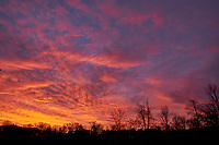 Colorful Clouds at Dawn. Image taken with a Fuji X-T1 camera and 16 mm f1.4 lens (ISO 200, 16 mm, f/6.4, 1/25 sec).