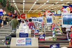 Hipermercado BIG, em Santo Amaro, Sao Paulo,SP, comprado pelo Wal-Mart / Sao Paulo, SP, Brazil     Dezember, 14, 2005.Wal-Mart Stores Inc., the world's largest retailer, agreed to buy Sonae SGPS SA's retail business in Brazil. Hipermercado BIG, in the quarter Santo Amaro.