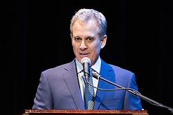 June 16, 2017 - New York, NY, U.S - New York State Attorney General ERIC SCHNEIDERMAN at Town Hall in New York City, New York on June 16, 2017. (Credit Image: © Michael Brochstein via ZUMA Wire)