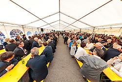 17.06.2017, Felbertauerntunnel Südportal, Matrei in Osttirol, AUT, 50. Jahre Felbertauernstrasse, im Bild Übersicht Festzelt. EXPA Pictures © 2017, PhotoCredit: EXPA/ Johann Groder
