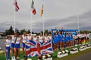 Eton. Great Britain. FISA Junior  World Rowing Championships. Dorney Lake, Nr Windsor. Saturday, 06/08/2011 [Mandatory credit: Intersport Images]