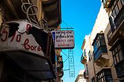 Underwear shop, Triq San Gwann, Valletta, Malta