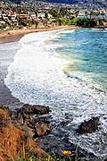 Laguna Beach Coastline In Orange County California