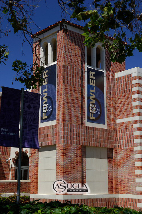 ASUCLA Photography Archive-  Exterior image of The Fowler Museum, UCLA Campus. University of California Los Angeles, Westwood, California.<br /> Copyright: ASUCLA
