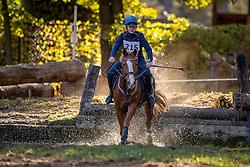 De Roo Chloe, BEL, Happyness<br /> LRV Ponie cross - Zoersel 2018<br /> © Hippo Foto - Dirk Caremans<br /> 28/10/2018