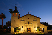 SCU Presents Wind Ensemble performs Tapestry at Mission Santa Clara de Asís at Santa Clara University in Santa Clara, California, on May 23, 2019. (Stan Olszewski/SOSKIphoto)