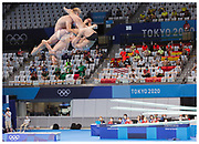Jack Laugher for Team GB at the Tokyo 2020 Olympic Games.