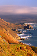 Image of Highway 1 and Big Sur, central California coast by Randy Wells
