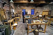 Nederland, Eindhoven, 27-10-2019Het philipsmuseum met daarin het fabriekje waar anton philips de eerste gloeilampen maakte.Foto: Flip Franssen