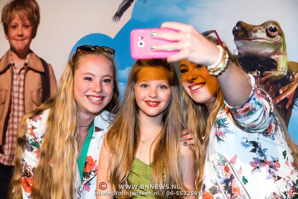 NLD/Amsterdam/20160716 - Groene loper première Meester Kikker,