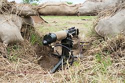 Vickars Machine gun emplacement<br />  17 July 2016<br />  Copyright Paul David Drabble<br />  www.pauldaviddrabble.photoshelter.com