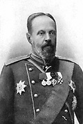 Sergey Yulyevich Witte  (1849-1915). First constitutional prime minister of Tsarist Russia (1905-1906). Peace plenipotentiary after Russo-Japanese War (1905). Russian modernisation.