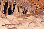 Eroded hills at Zabriskie Point, Death Valley National Park. California