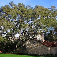 USA, California, Carmel. Holman Ranch Hacienda.