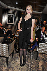 KATIA ELIZAROVA at a party to celebrate the launch of the Hippodrome Casino, Leicester Square, London on 12th July 2012.