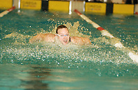 NM svømming senior/05032004/ Grottebadet i Harstad/ Chris Fenton Tromsø SK/ 100m butterfly herrer forsøk/<br /> FOTO: KAJA BAARDSEN/DIGITALSPORT