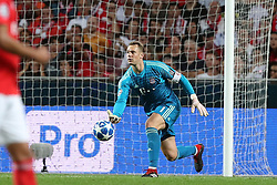 September 19, 2018 - Lisbon, Portugal - Bayern Munich's goalkeeper Manuel Neuer from Germany in action during the UEFA Champions League Group E football match SL Benfica vs Bayern Munich at the Luz stadium in Lisbon, Portugal on September 19, 2018. (Credit Image: © Pedro Fiuza/NurPhoto/ZUMA Press)