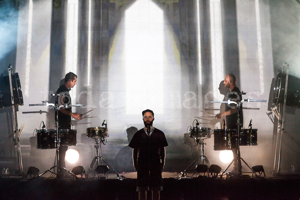 Woodkid performing at the 19th Festival International of Benicassim, Spain