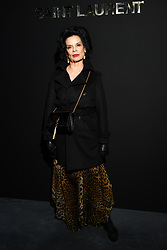 Bianca Jagger attends the Saint Laurent show as part of the Paris Fashion Week Womenswear Fall/Winter 2019/2020 on February 26, 2019 in Paris, France. Photo by Laurent Zabulon/ABACAPRESS.COM