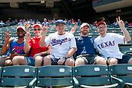 SMU Day at Texas Rangers Baseball Game 2019