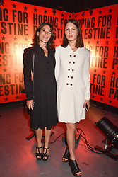 """Esther Freud and her daughter Anna Morrissey at """"Hoping For Palestine"""" Benefit Concert For Palestinian Refugee Children held at The Roundhouse, Chalk Farm Road, England. 04 June 2018. <br /> Photo by Dominic O'Neill/SilverHub 0203 174 1069/ 07711972644 - Editors@silverhubmedia.com"""
