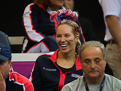 November 10, 2018 - Prague, Czech Republic - Danielle Collins of the United States at the 2018 Fed Cup Final between the Czech Republic and the United States of America (Credit Image: © AFP7 via ZUMA Wire)