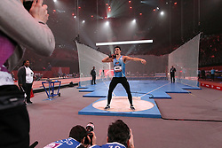 February 7, 2018 - Paris, Ile-de-France, France - Bastien Auzeil of France competes in shot put triathlon during the Athletics Indoor Meeting of Paris 2018, at AccorHotels Arena (Bercy) in Paris, France on February 7, 2018. (Credit Image: © Michel Stoupak/NurPhoto via ZUMA Press)