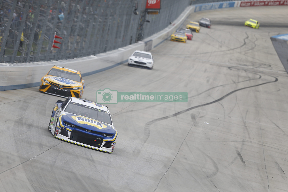 May 6, 2018 - Dover, Delaware, United States of America - Chase Elliott (9) battles for position during the AAA 400 Drive for Autism at Dover International Speedway in Dover, Delaware. (Credit Image: © Justin R. Noe Asp Inc/ASP via ZUMA Wire)