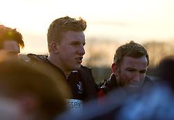 James Dun (c) (Millfield) of Bristol Rugby Academy U18 - Mandatory by-line: Paul Knight/JMP - 21/01/2017 - RUGBY - SGS Wise Campus - Bristol, England - Bristol Academy U18 v Saracens Academy U18 - Premiership Rugby Academy U18 League