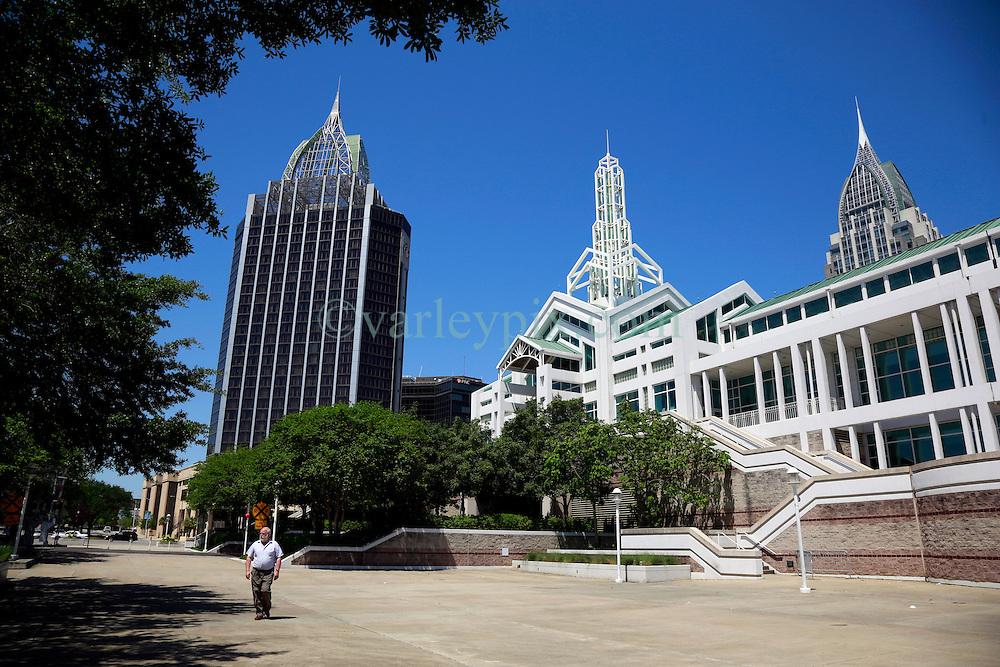 21 Apr 2013. Mobile, Alabama..The Arthur R Outlaw Convention Center. Mobile,  Alabama..Photo; Charlie Varley.