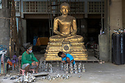 Boonchoo Fine Arts,  foundry in Bang Khae on the outskirts of western bangkok has been producing finely sculpted bronze cast statues for temples and monasteries for two generations.