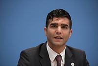 DEU, Deutschland, Germany, Berlin, 14.07.2015: Alon Meyer, Präsident Makkabi Deutschland e. V., in der Bundespressekonferenz zum Thema European Maccabi Games.