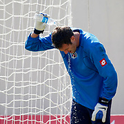Kasimpasa's goalkeeper Jan Andreas Isaksson during their Turkey Cup second leg soccer match istanbulspor between Kasimpasa at the Bahcelievler Stadium at istanbul Turkey on wednesday, 26 September 2012. Photo by TURKPIX