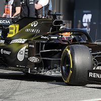 19.02.2020, Circuit de Catalunya, Barcelona, Formel 1 Testfahrten 2020 in Barcelona<br /> , im Bild<br />Esteban Ocon (FRA#31), Renault F1 Team<br /> <br /> Foto © nordphoto / Bratic