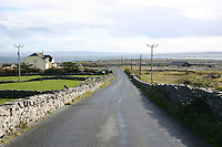 Stone walls on Inis Mor the Aran Islands
