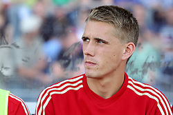 14.07.2011, Ernst-Abbe-Sportfeld, Jena, GER, Benefizspiel, Carl Zeis Jena vs FC Bayern im Bild ..Nils Petersen (Bayern München) ..  //during the freindlc match between Carl Zeis Jena - FC Bayern 2011/07/14   EXPA Pictures © 2011, PhotoCredit: EXPA/ nph/  Hessland       ****** out of GER / CRO  / BEL ******