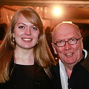NLD/Utrecht/20110303 - Buma Stemra Harpengala 2011, Harry Slinger en jongste dochter