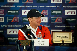Ward McLain, USA<br /> Longines FEI World Cup Jumping Final IV, Omaha 2017 <br /> © Hippo Foto - Dirk Caremans<br /> 03/04/2017