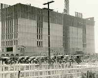 1926 Hollywood Storage Building at 1025 N. Highland Ave. under construction