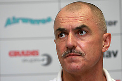 Head coach of Slovakia Zoltan Heister at  handball game between men national teams of Slovenia and Slovakia, first qualification game for the World Chamionship 2009, on June 7, 2008, in Arena Zlatorog, Celje, Slovenija. Result: 33 : 33. (Photo by Vid Ponikvar / Sportal Images)