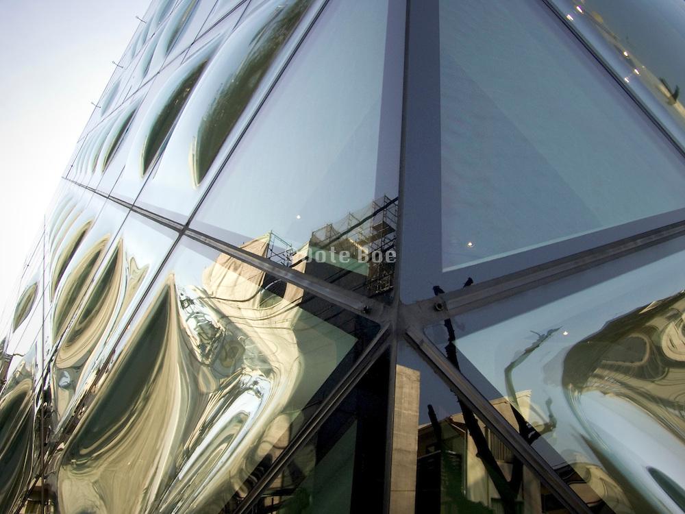 designed by Swiss architect's Herzog & De Meuron for the new Prada store Tokyo Japan