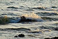 Rocks, waves and surf, Koh Samet, Thailand