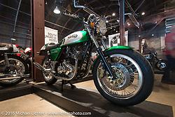 Tom Reid's 1973 VR880 Norton on Saturday in the Handbuilt Motorcycle Show. Austin, TX, USA. April 9, 2016.  Photography ©2016 Michael Lichter.