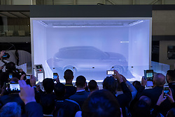 World Premiere launch of new Land Rover Velar at 87th Geneva International Motor Show in Geneva Switzerland 2017